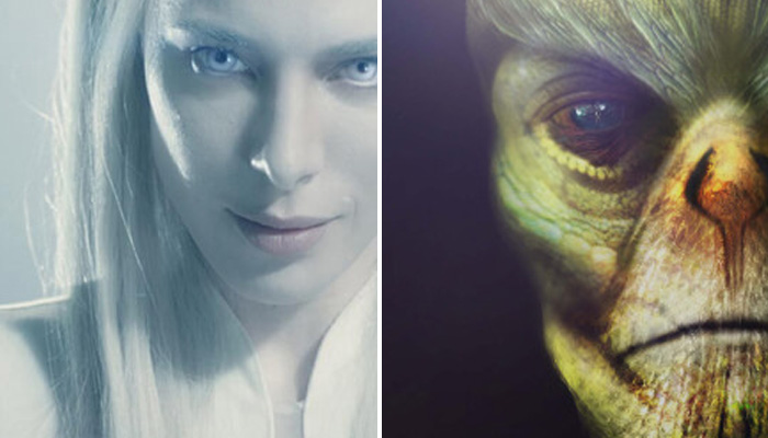 Who are reptilians and how do they look