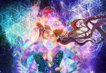 Spiritual connection between man and woman