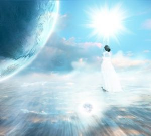 Astral projection to visit someone